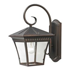 Ridgewood 1 Light Outdoor Wall Lantern