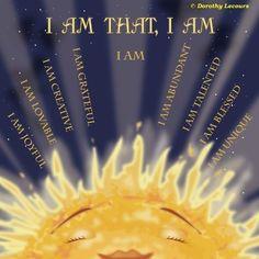 I Am That I Am.  I AM That I AM and All There Is is As It Should Be….<3k<3