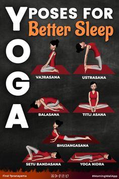 Yoga Poses For Sleep, Sleep Yoga, Yoga For Seniors, Yoga For Kids, Kundalini Yoga, Pranayama, Learn Yoga, How To Do Yoga, Yoga Facts
