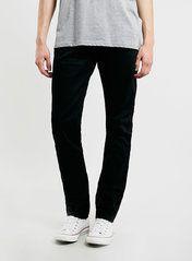 Black Vintage Slim Jeans