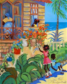 Caribbean Art | People | Janice Sylvia Brock