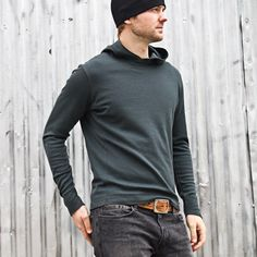 The Faroe wool pullover by Mission Workshop Mission Workshop, Urban Fashion, Mens Fashion, Pullover Designs, Cycling Outfit, Cycling Clothing, Hoodie Sweatshirts, Hoodies, Ladies Dress Design