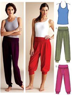 3835 kwik sew - genie pants