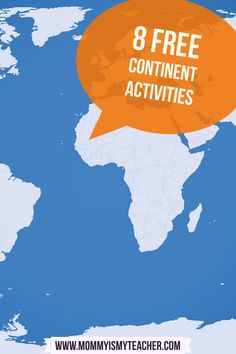 Free Continent Activities for Kids