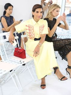 princess deena abdulaziz | Princess Deena Was the Best-Dressed Royal at New York Fashion Week