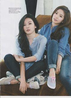 Red Velvet Irene and Seulgi