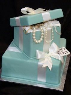 Tiffany and Co Cake