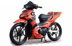Modifikasi Motor Revo 110 FIt Fitness