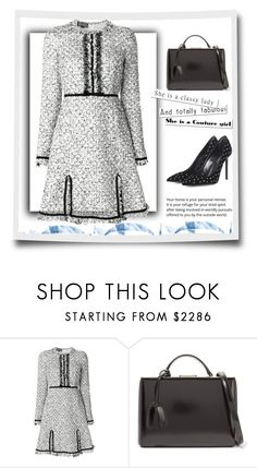 """""""Outfit # 5292"""" by miriam83 ❤ liked on Polyvore featuring Giambattista Valli, Mark Cross and Yves Saint Laurent"""