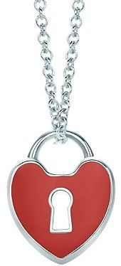 157358497be The Key to Your Heart Sterling necklace from Tiffany   Co. Who wouldn t  want to open a blue box on Valentine s