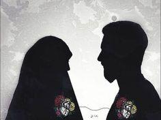 Muslim Photos, Muslim Images, Best Love Wallpaper, Eyes Wallpaper, Islamic Girl Images, Islamic Pictures, Cute Muslim Couples, Cute Couples Goals, Hijabi Wedding