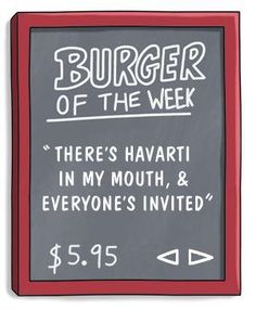 Burger of the Week
