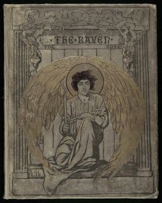 Gustave Doré's cover illustration for the 1884 edition of Edgar Allan Poe's The Raven. Library of Congress, Washington, D.C.