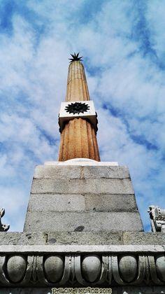Obedlisco. Obelisk Madrid-Río