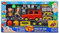 (William) Phineas and Ferb: Ferb My Ride- Moms Car Racer  [Amazon / Toys R Us]