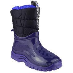 045fe7a1022a Mirak Flurry Childrens/Kids Warmlined Boot / Boys/Girls Boots (12.5 US  Junior