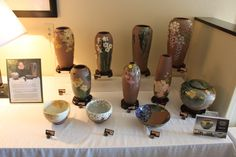 #CAPCA | J.C. Niehaus Pottery | A sampling of what was available in the CAPCA room during the Pottery Lovers Reunion in Zanesville, Ohio