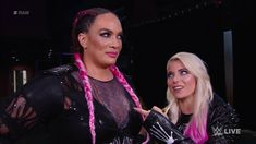 Alexa Bliss & Nia Jax Lexi Kaufman, Nia Jax, Raw Women's Champion, Total Divas, Season 7, Little Miss, Wwe, Bliss, Hair Styles