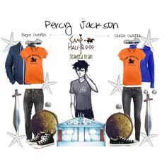 Percy Jackson Girl/Boy Outfit - Polyvore on We Heart It