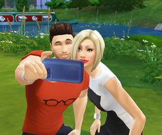 But first... let me take a selfie :-) #thesims4 #simselfie