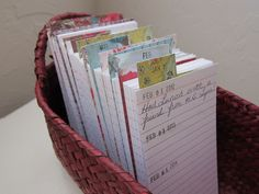 what are note cards used for