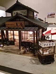 昭和ミニチュア情景展 |Easygoing~自転車さんぽと縫い物にっき