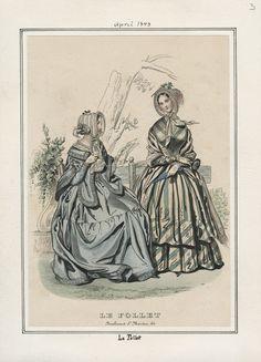 Le Follet April 1843 LAPL