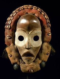 African Dan mask from Liberia (via African-art-shop)