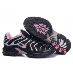 buy popular 6e68f a75ff Nike Air Max TN Femme Chaussure Noir grey light red - €62.00 - Site Officiel