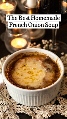 Homemade French Onion Soup, Best French Onion Soup, French Soup, Panera French Onion Soup, Homemade Soup, Fall Recipes, Dinner Recipes, Onion Soup Recipes, Best Onion Soup Recipe