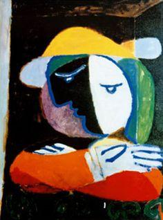 Femme au balcon - 1937 - Pablo Picasso