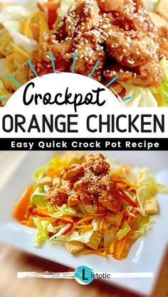 Easy crockpot meals for chicken, beef and more! These cheap crockpot dinner recipes are so easy and delicious, and most of them are less than 5 ingredients. Quick Crockpot Meals, Crockpot Dishes, Slow Cooker Recipes, Crockpot Recipes, Chicken Recipes, Easy Meals, Cooking Recipes, Shrimp Recipes, Orange Chicken Crock Pot