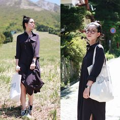 Get this look: http://lb.nu/look/8219669  More looks by Mizuho K: http://lb.nu/xoxohilamee  Items in this look:  Flyersmeeting Tote Bag, Xoxo Hilamee More Details On   #casual #chic #minimal