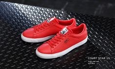 Puma Court Star: Red