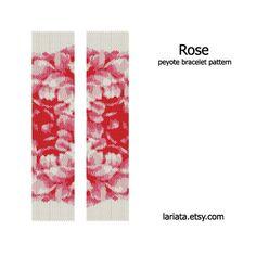 Hoi! Ik heb een geweldige listing gevonden op Etsy https://www.etsy.com/nl/listing/72338706/rose-pattern-peyote-bracelet-pattern