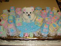 Baby Shower Bear Cakes