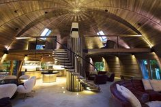 Amazing Dome Home Made from Reclaimed Wood, China DesignRulz.com