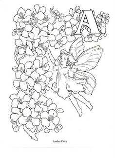 Flower and Fairy Alphabert by Darcy May - senia One Stroke - Picasa Web Albums
