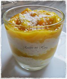 Thermomix - Rezepte mit Herz : Milchreis mit Mango