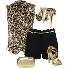 """""""DRESSY SHORTS"""" by anneanton on Polyvore"""