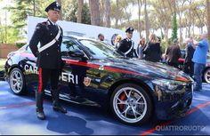 Alfa Romeo Gulia Carabinieri