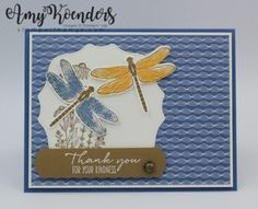 Stampin' Up! Dragonfly Garden Sneak Peek for Sunday Stamps – Stamp With Amy K
