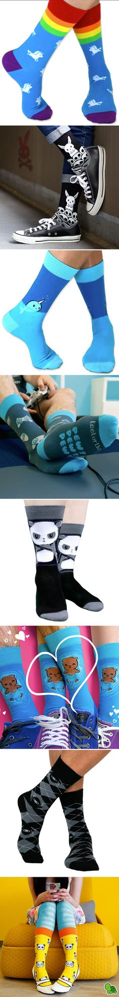 We'll knock your socks ON with our super-soft, super-cute socks!
