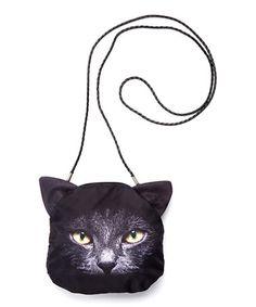 Love this Black Cat Crossbody Bag on #zulily! #zulilyfinds