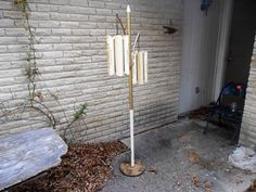 Vintage Mid-Century Modern Floor Lamp   DFW TX