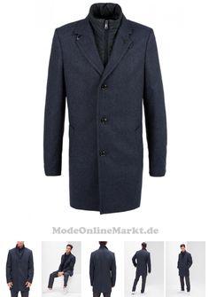 die 122 besten bilder von blau mode, schuhe \u0026 accessories blue  otto herren s oliver black label modern fit wollmantel mit stehkragen schwarz 04060843443576