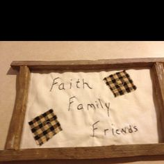 This is made from tobacco sticks. I did the stitching on muslin. Makes a great wall hanging