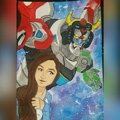 Wishpetal with voltron by MoeLycaen Painting, Art, Art Background, Painting Art, Kunst, Paintings, Gcse Art