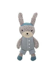 bloomingville-strikket-kanin-blaa