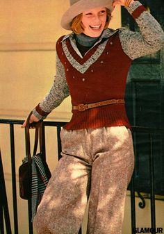 shot from Glamour magazine. 60s And 70s Fashion, Seventies Fashion, Fashion Now, Teen Fashion, Vintage Fashion, College Fashion, School Fashion, Beverly Johnson, Patti Hansen